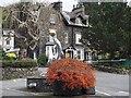 NY3703 : Dolphin Fountain at entrance to  Hayes Garden Centre Ambleside by Jennifer Petrie