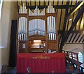 SJ9594 : St Thomas's Organ by Gerald England