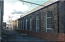 TQ7569 : Building in Chatham Dockyard by David Howard