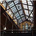SJ8398 : Pump House roof by Ian Taylor
