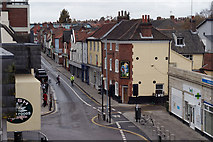 TG2309 : Magdalen Street (from Anglia Square Rooftop Car Park) by Matthew Morgan