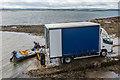 NU1341 : Unloading crabs by Ian Capper