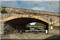 SX4654 : Old railway arch, City College, Plymouth by Derek Harper