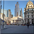 TQ3281 : Bank Junction and Royal Exchange, City of London by Free Man