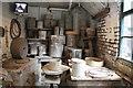 SJ9143 : Gladstone Pottery Museum - saggar maker's shop by Chris Allen