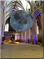 SO8318 : The moon in Gloucester Cathedral by Philip Halling