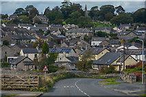 SD3876 : Allithwaite : Holme Lane B5277 by Lewis Clarke