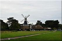 TQ2372 : Windmill: Wimbledon Common by John Myers