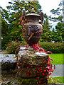 SH5269 : Close look at an urn, Plas Newydd by Robin Drayton