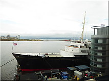 NT2677 : The bow of the Royal Yacht Britannia by Chris Holifield