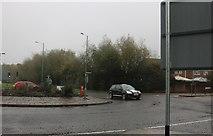 SU1184 : Roundabout on Whitehill Way, Swindon by David Howard