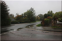 SU0782 : Longleaze at the junction of Stoneover Lane by David Howard