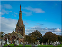 SD1779 : St.George's Church and Graveyard, Millom by Peter Moore