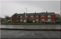 SU1685 : Terrace of houses on Drakes Way, Swindon by David Howard