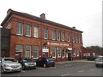 SK1109 : Lichfield City station by John Slater