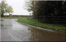 SU3287 : Crossroads on the B4507, Kingston Lisle by David Howard