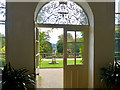 SJ2106 : Looking out from the orangery, Powis Castle by Robin Drayton