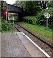 ST1880 : 25 sign opposite Heath Low Level station, Cardiff by Jaggery