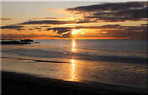 NX1896 : Sunset, Ainslie Shore Girvan by Billy McCrorie