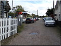 TL7720 : Cressing Railway Station car park by Geographer