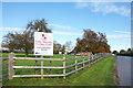 SP9015 : Long Marston Cricket Club by Des Blenkinsopp