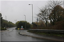 SU5191 : Roundabout on the A4130 Didcot Bypass by David Howard