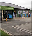SO4382 : Greggs next door to Tiffins Petrol Station shop, Cravens Arms by Jaggery