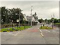 V9691 : Pedestrian Crossing on Rock Road by David Dixon