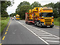 V9692 : Yellow Trucks on the N22, Upper Coolcorcoran by David Dixon