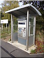 TL7720 : Cressing Railway Station Ticket Machine by Geographer
