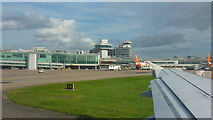 SJ8184 : Manchester Airport Terminal 1 by Richard Cooke