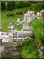 SP0933 : Wolf's Cove model village at Snowshill Manor by Rod Allday