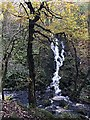 SK2579 : Waterfall in Padley Gorge by Graham Hogg
