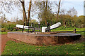 SO8595 : Dimmingsdale Lock west of Lower Penn in Staffordshire by Roger  Kidd