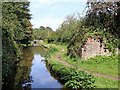 SJ9851 : Remains of Bridge No 46 near Cheddleton, Staffordshire by Roger  Kidd