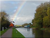 SP6989 : Rainbow over Foxton by Stephen McKay