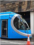 SP0686 : West Midlands Metro Tram on Stephenson Street by Stephen McKay