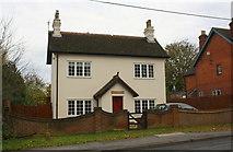 SU7167 : Rendered 'Lawrence Dene' on east side of Basingstoke Road by Luke Shaw