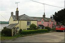 SX4563 : Valletort Cottages, Bere Ferrers by Derek Harper