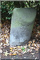 SU7166 : Old milestone at junction of Basingstoke Road and Chapel Lane by Luke Shaw