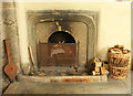 SX4563 : Fireplace, Church of St Andrew, Bere Ferrers by Derek Harper