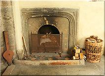 SX4563 : Fireplace, Church of St Andrew, Bere Ferrers by Derek Harper