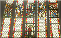 SX4563 : Stained glass, Church of St Andrew, Bere Ferrers by Derek Harper