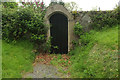 SX4563 : Door from the churchyard, Bere Ferrers by Derek Harper
