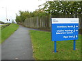 SO8755 : Worcestershire Health & Care Trust - signage by Chris Allen