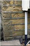 SE1527 : Benchmark on #113 Carr House Gate by Luke Shaw