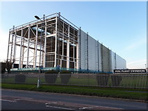 SU1686 : New BMW Mini plant in process of construction, Bridge End Road by Vieve Forward