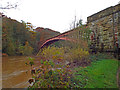 SO7679 : Severn Valley Railway - Victoria Bridge by Chris Hodrien
