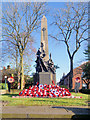 SD7807 : Radcliffe War Memorial, Blackburn Street by David Dixon