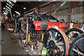 SK5419 : Great Central Railway - workshop by Chris Allen